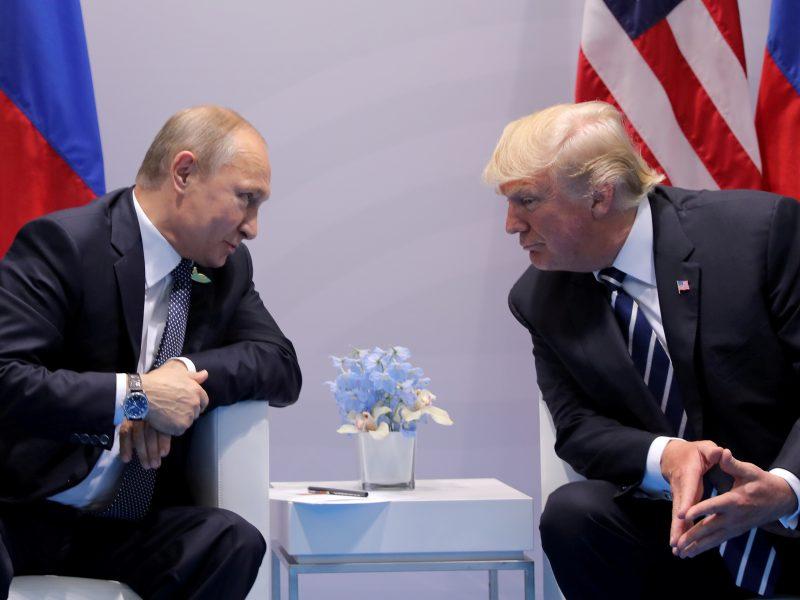 Prieš V. Putino ir D. Trumpo susitikimą Suomija įveda patikras pasienyje