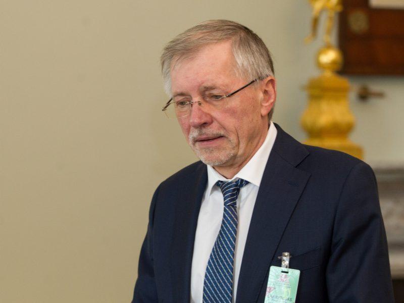 G. Kirkilas pasiaiškino dėl ekonominės krizės: kaltinimai krito Seimui