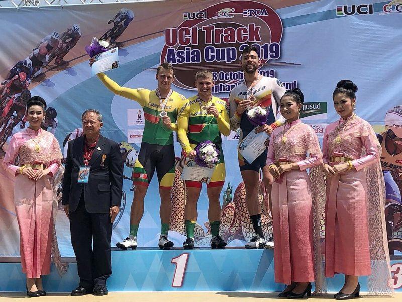 Tailande – Lietuvos dviratininkų sėkmė: iškovojo net penkis medalius