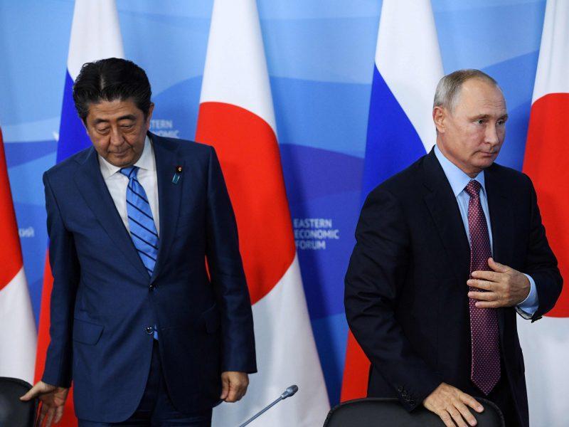 """Kremlius: taikos derybos su Japonija bus """"ištęstas"""" procesas"""