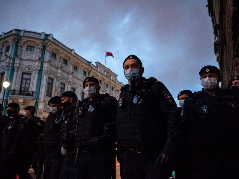 Ketvirta protestų naktis Baltarusijoje