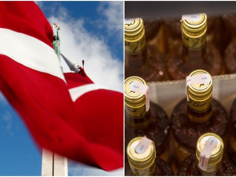 Latvija mažina akcizą alkoholiui 15 proc.