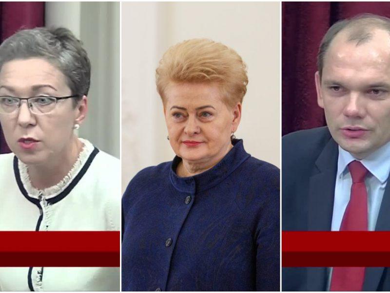 Naujų ambasadorių būryje – du prezidentės patarėjai