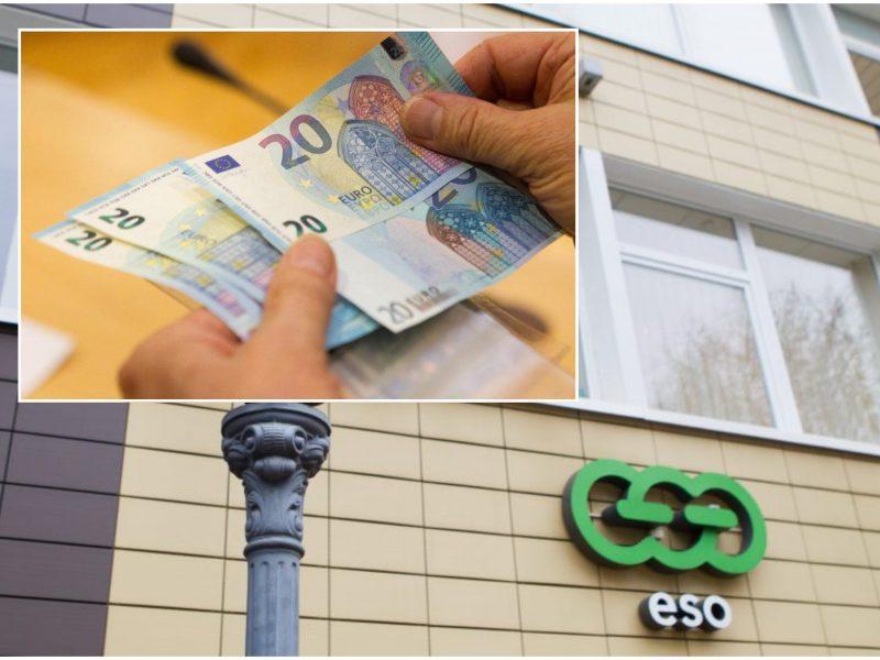 Už bandymą papirkti ESO darbuotoją – 4 tūkst. eurų bauda