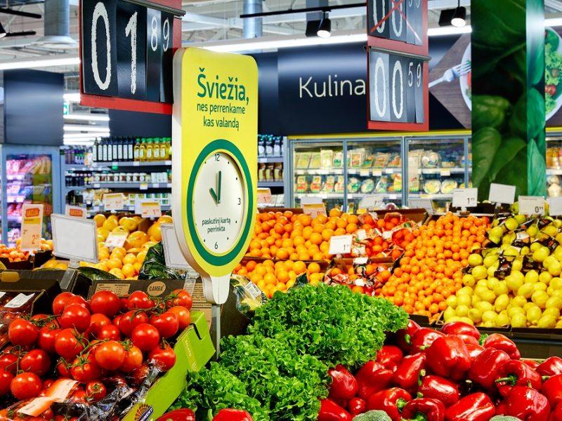 Lietuvių pirkiniai: vasarą valgo savo užaugintą derlių, bet neatsispiria ir egzotikai