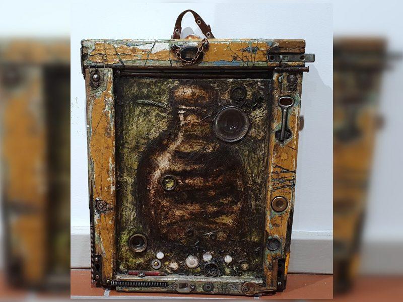 """Uostamiesčio Baroti galerijoje – tapytojo A. Karvelio """"Senos naujienos"""""""