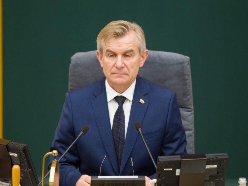 V. Pranckietis po prezidentės žodžių: kaltinimai R. Karbauskiui yra nepagrįsti