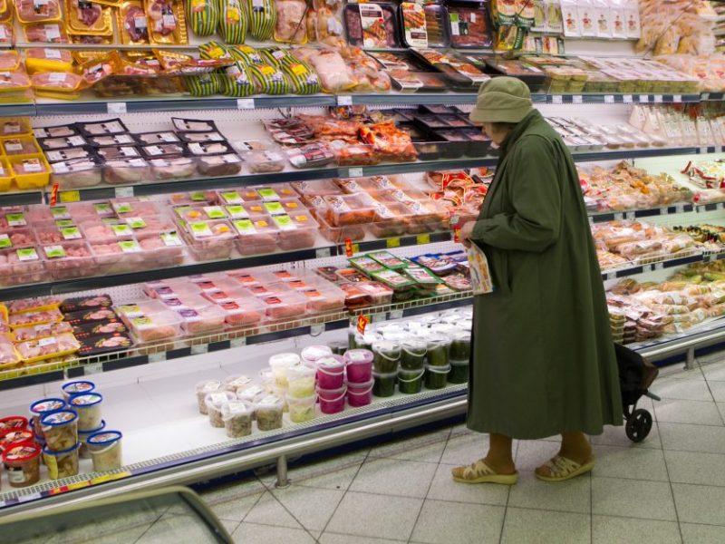 Vyriausybė apžvelgs maisto kainų tendencijas
