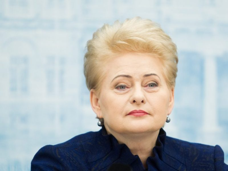 D. Grybauskaitė vetavo pataisas dėl atliekų deginimo jėgainių