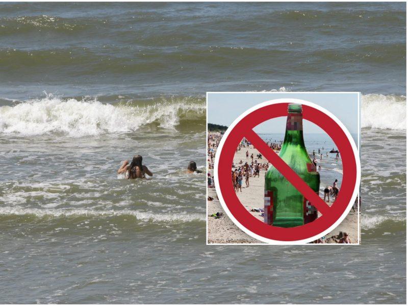 Pliažuose – alkoholis ir atsainumas: pamatę jūrą žmonės pamiršta saugumą