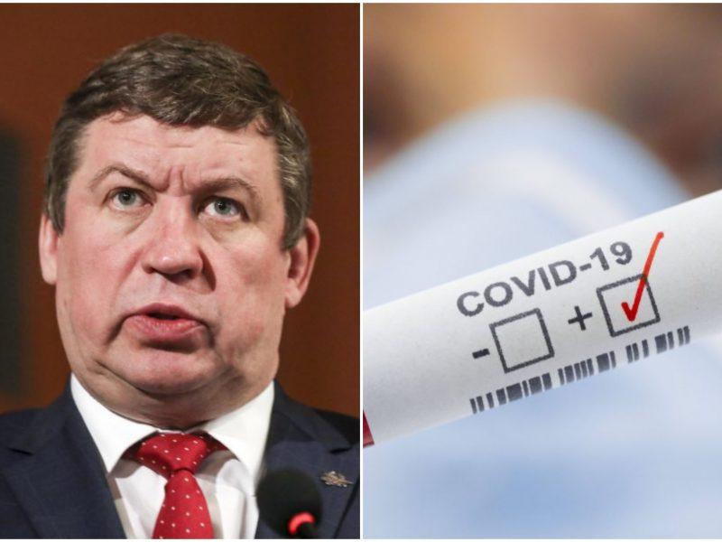 Krašto apsaugos ministrui R. Karobliui nustatytas koronavirusas