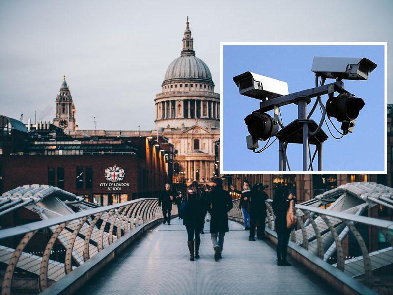 Londono gatvėse atsiras veidus skenuojančios kameros