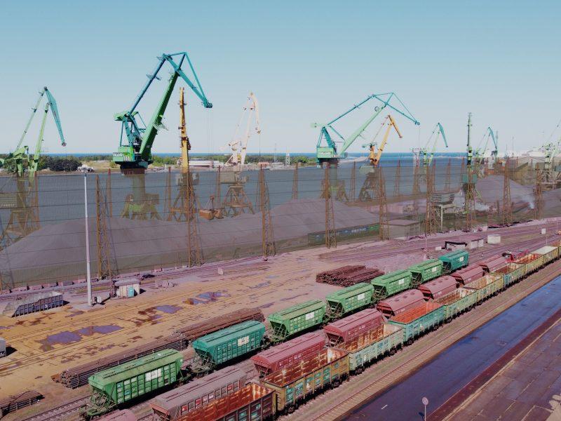 KLASCO planuoja statyti apsauginę vėjo sieną nuo dalelių sklidimo
