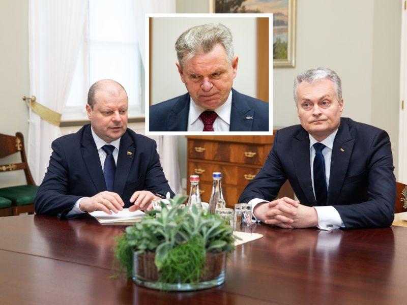 S. Skvernelio reitingas dramatiškai krito žemyn, J. Narkevičius – nepopuliariausias