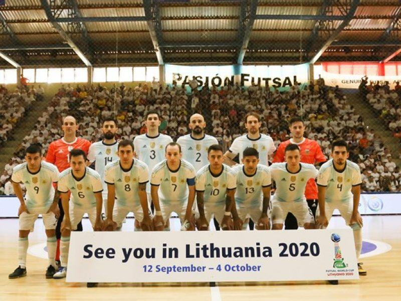 Pasaulio salės futbolo čempionė Argentina: ilgas žygis link viršūnės ir broliai iš pasaulio galo