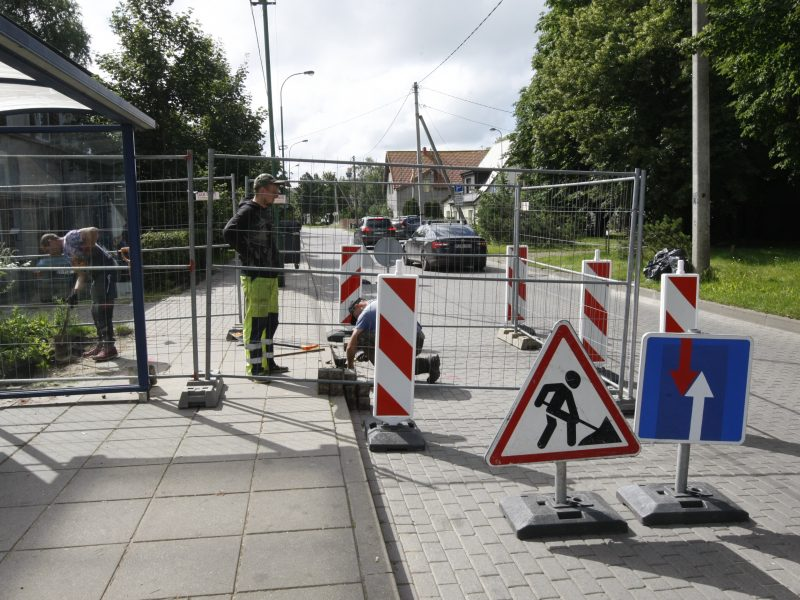 Dėmesio: Molo gatvėje Klaipėdoje – eismo ribojimai