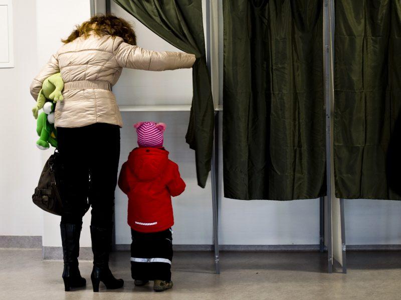 Užburtas rinkimų ratas
