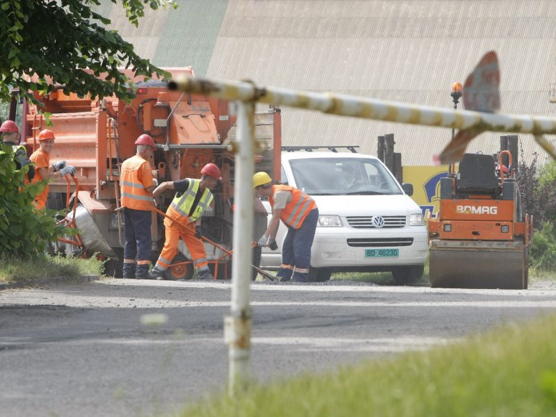 Klaipėdos rajono savivaldybei – šansas žvyrkelių asfaltavimui