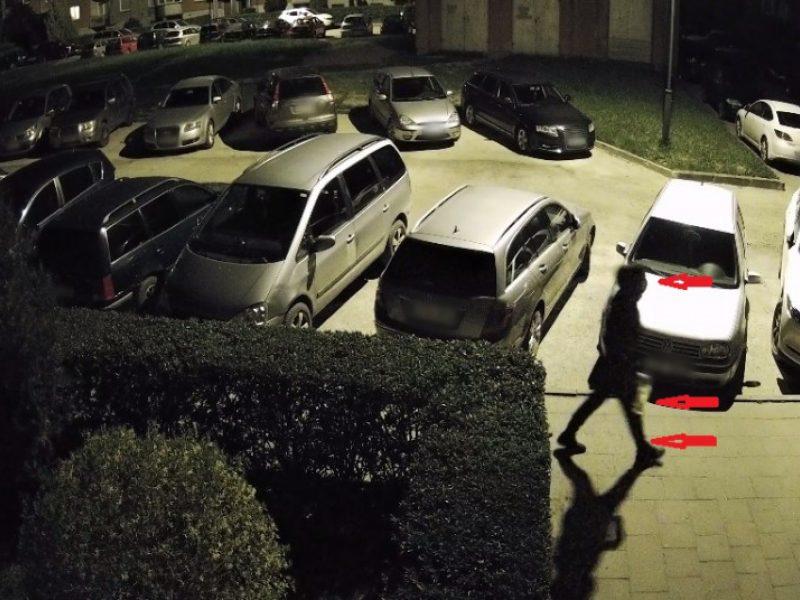 Nustatytas asmuo įtariamas organizavęs Plungės administracijos vadovo automobilio padegimą