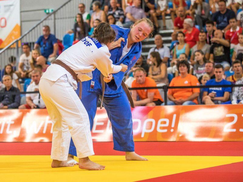 J. Kmieliauskaitė iškovojo Europos jaunimo dziudo taurės varžybų bronzą