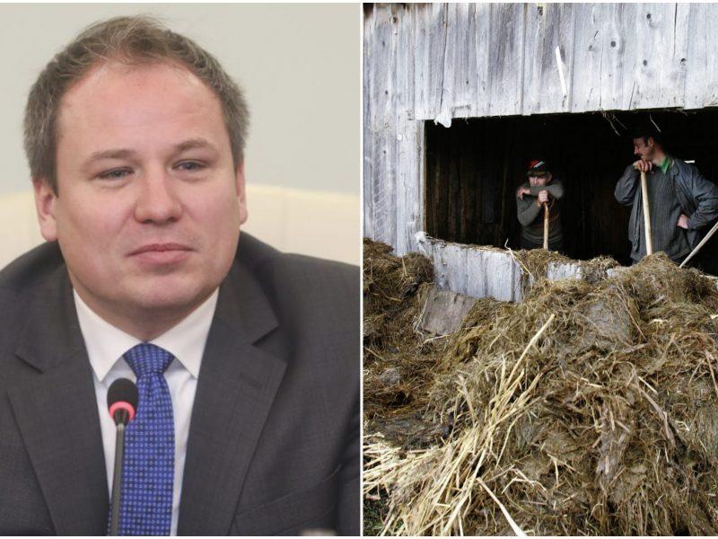G. Surplys: panaikinti dėl žemės ūkio veiklos atsiradusį kvapą brangu, bet įmanoma