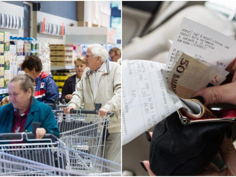 Ekonomistas: kylančios maisto kainos nesuteikia pagrindo pesimistinėms mintims