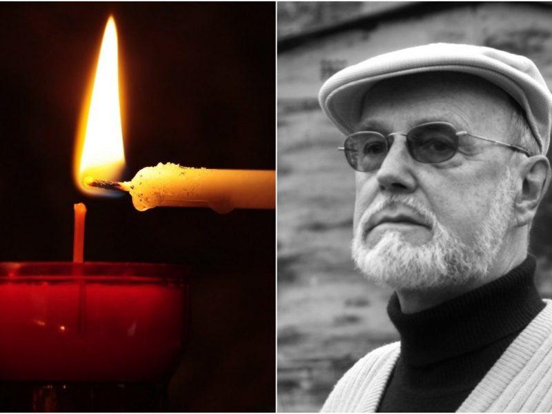Skaudi netektis: mirė N. Marčėnaitės tėvas, rašytojas R. Marčėnas