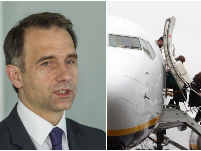 R. Masiulis: naujas oro uostas galėtų iškilti tarp Vilniaus ir Kauno