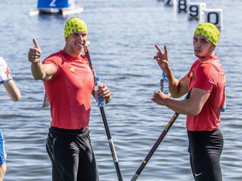Trys Lietuvos įgulos Europos žaidynėse – baidarių ir kanojų irklavimo pusfinaliuose