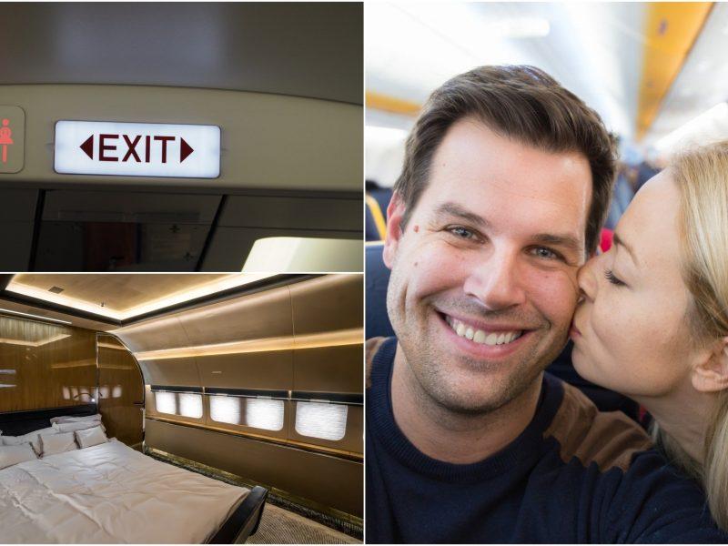 Ar seksas lėktuve yra nelegalus?