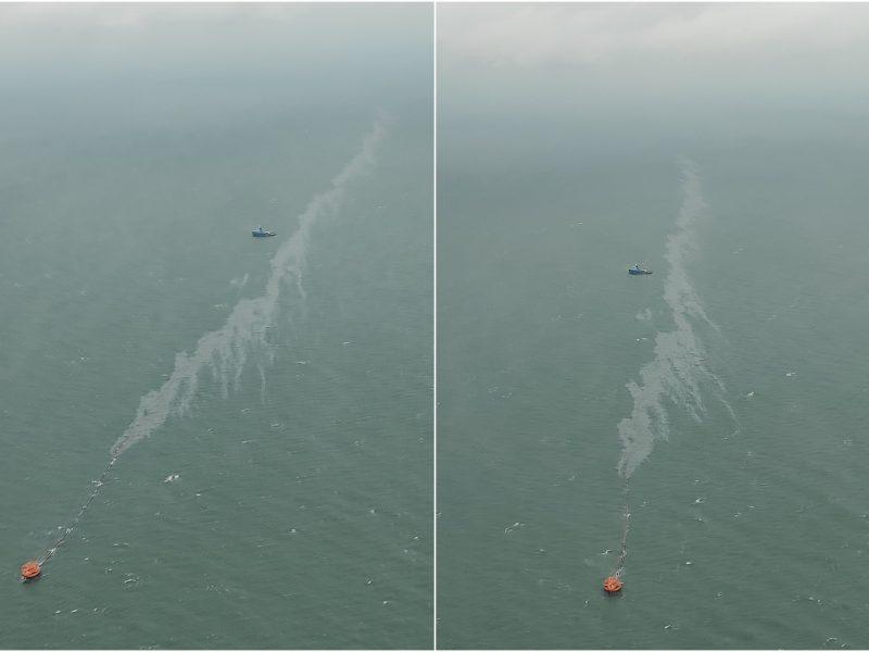 Prokuratūra pradėjo tyrimą dėl Būtingės terminale į Baltijos jūrą išsiliejusios naftos