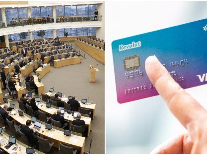 """Seimas gegužę apsispręs dėl siūlymo vėl tirti """"Revolut"""" patikimumą"""