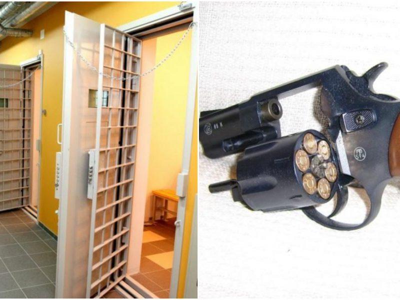 Utenos rajone už nelegaliai laikomą ginklą vyras atsidūrė areštinėje