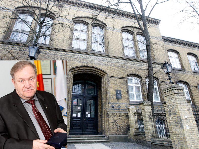 Kam parūpo istorinis Klaipėdos gimnazijos pastatas?