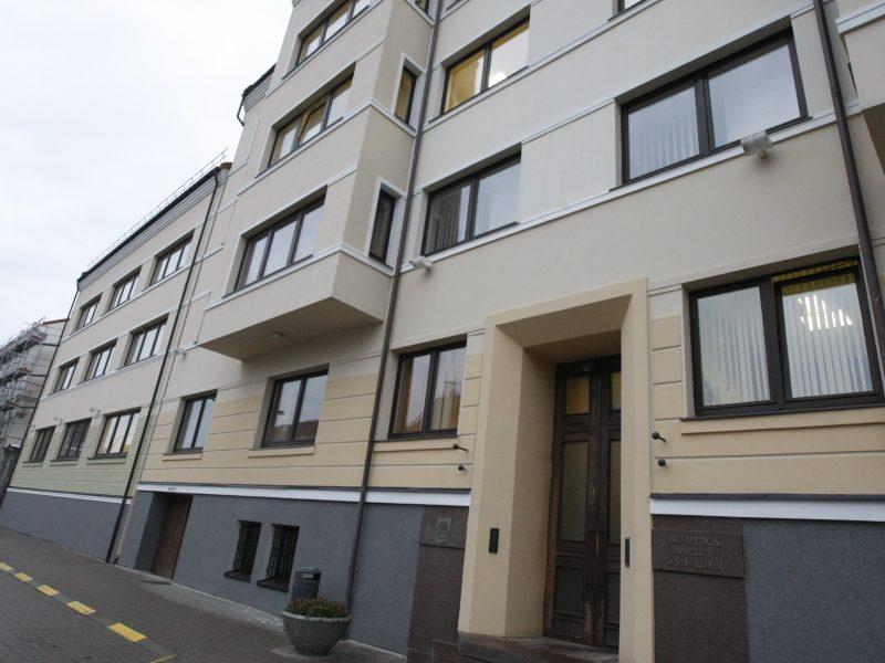 Planuose – naujas Klaipėdos savivaldybės pastatas
