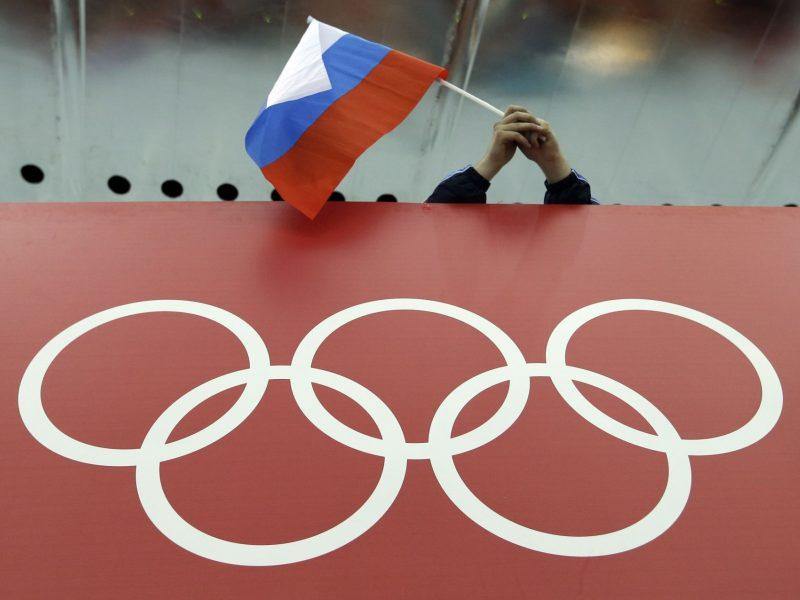 Rusija siūlomą diskvalifikaciją dėl dopingo vadina politizuota