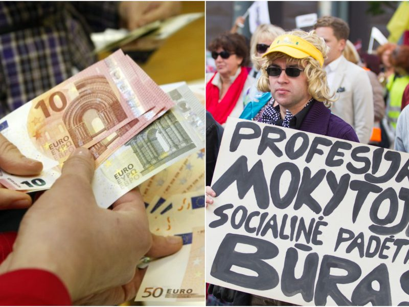 Ministerija pažėrė skaičius: mokytojų atlyginimams papildomai pervesti 14 mln. eurų