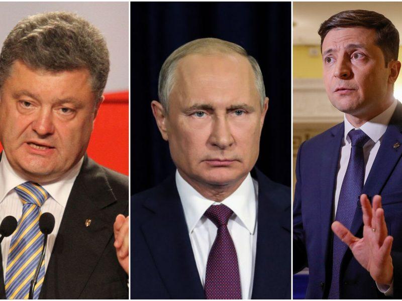P. Porošenka: V. Zelenskis nesugebėtų duoti atkirčio V. Putinui