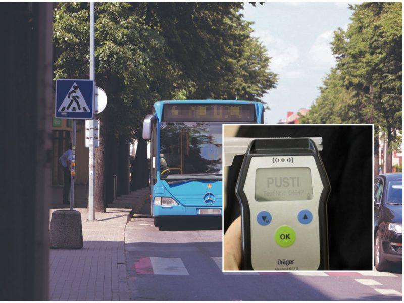 Užburtas ratas: Klaipėdoje – dar vienas sunkiai apgirtęs miesto autobuso vairuotojas