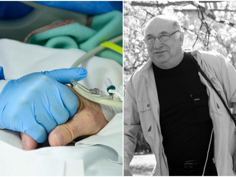 Koronaviruso grimasos: po mirties – be teisės atsisveikinti
