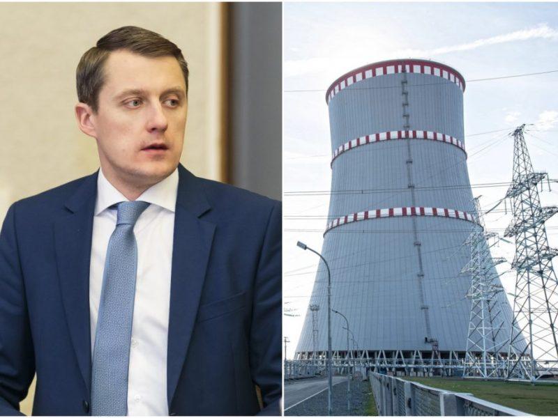 Ž. Vaičiūnas dėl Astravo AE kreipėsi į Europos Komisiją