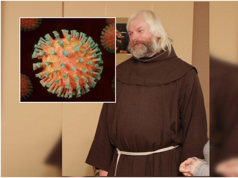 Kretingos vienuolyne – nerimo dienos: koronavirusas smogė viešumu