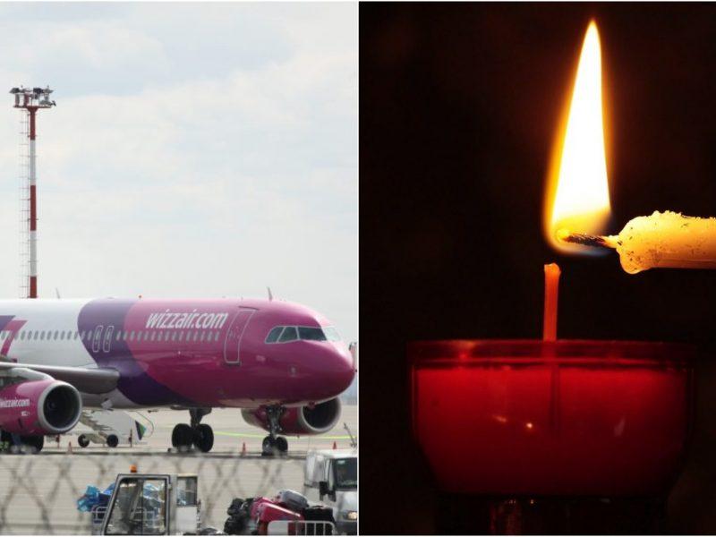 Į Lietuvą skridusiame lėktuve mirė žmogus
