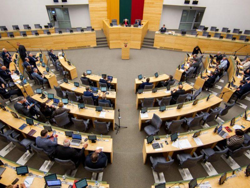 Seimas iš naujo svarstys vetuotas pataisas dėl valstybės turto naudojimo