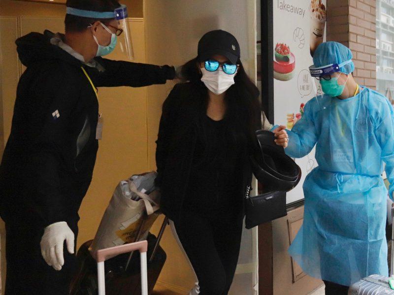 Kinijoje užregistruoti šeši nauji koronaviruso atvejai