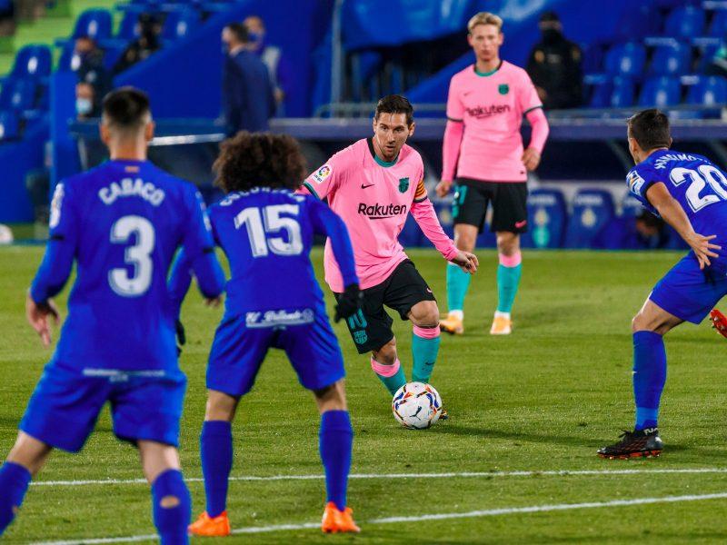 """L. Messi ir """"Barcelonos"""" pirmoji sezono nesėkmė – Madrido priemiestyje"""