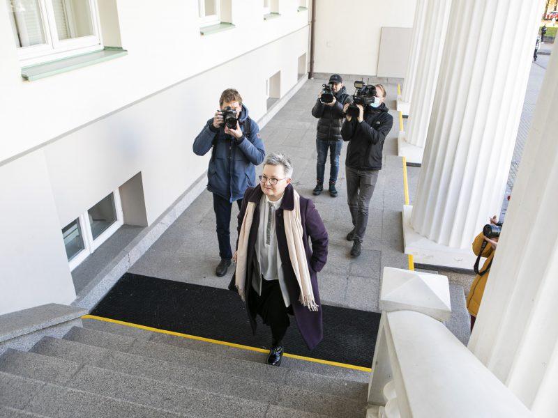 Už LGBTQ teises kovojanti R. Račienė susitiko su prezidentu