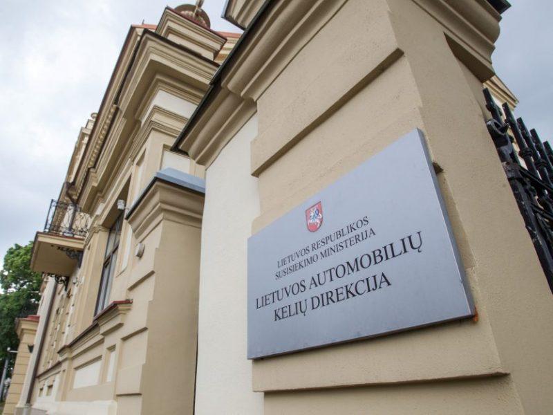 Lietuvos automobilių kelių direkcija pertvarkoma į valstybės įmonę