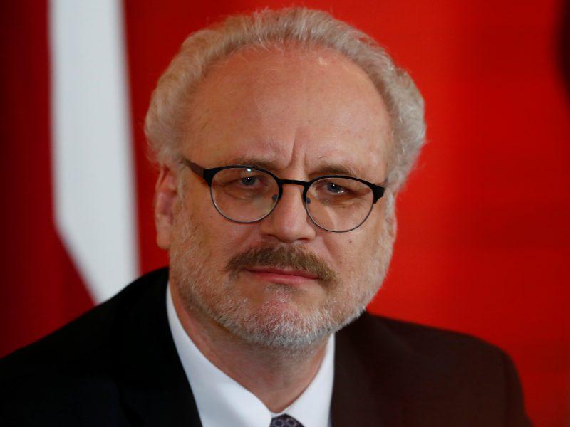 Latvijos prezidentas ragina: Vokietija turi prisiimti daugiau atsakomybės