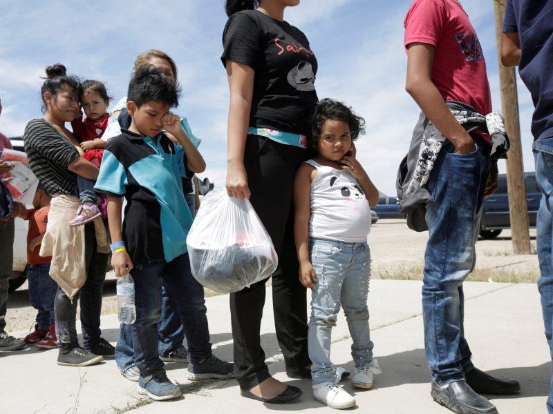 Neramumai JAV ir Meksikos pasienyje: nuo šeimų atskiriami migrantų vaikai